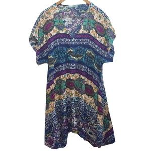 Maurices Flowy Boho Dress Tunic Top Festival Sz XL